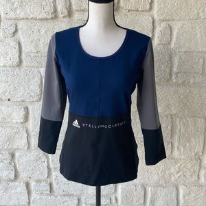 Stella McCartney adidas long sleeve athletic top